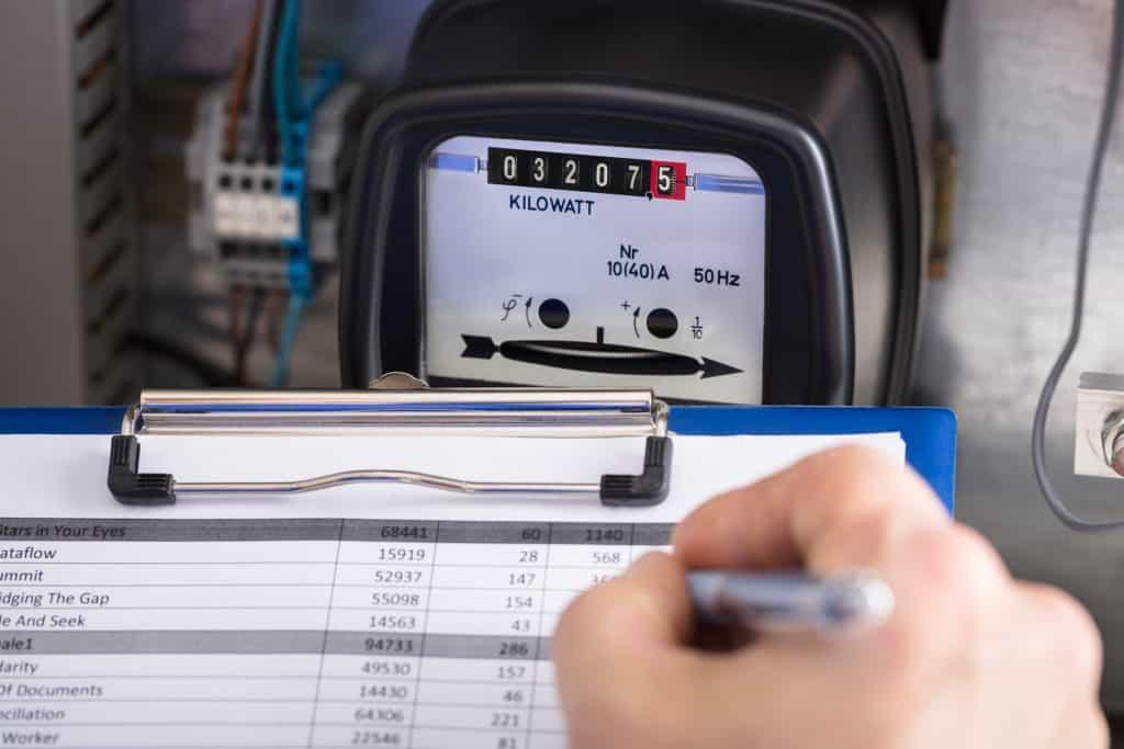 EDF relevé compteur electrique