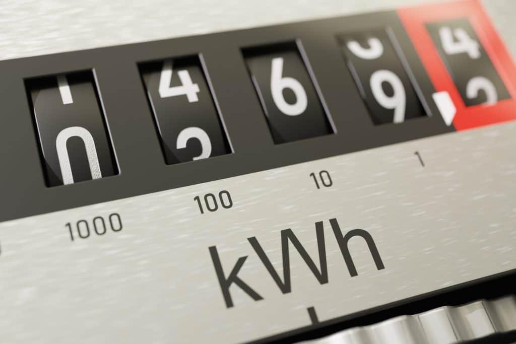 Comment faire la relève du compteur d'électricité